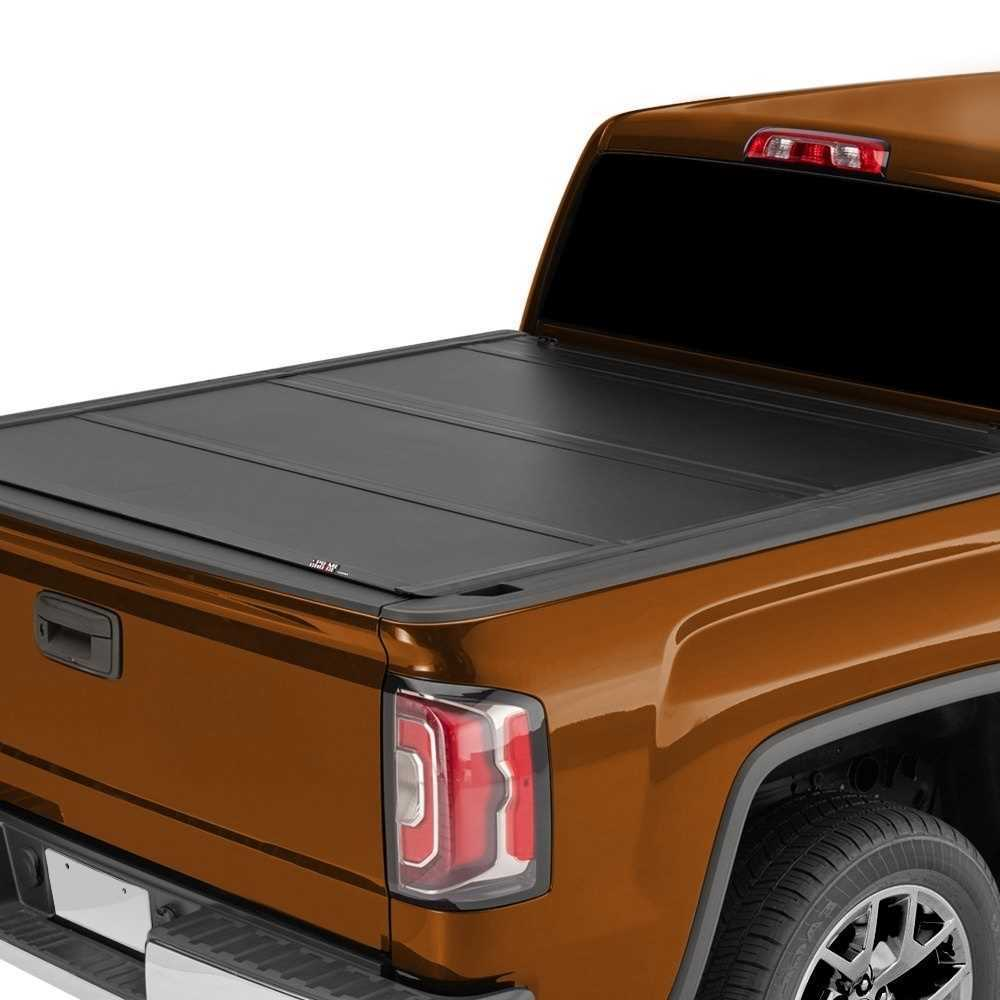 5 5ft Bed Tri Fold Hard Tonneau Cover Fits 07 13 Toyota Tundra Replacement Car Parts